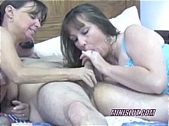 milf, group sex, brunette