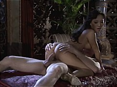 Asa Akira giving a massage and then g...