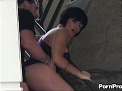 outdoor, blowjob, amateur, brunette,