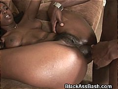 ebony, ass, anal, black, booty, threesome