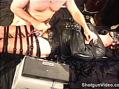 Totally bound hunk in ... video