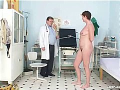 mature, speculum, hospital, granny