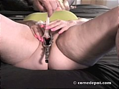 Thumb: Bbw blonde using some ...