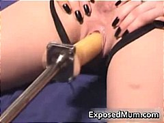 Kinky mom pussy drille...