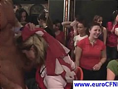 orgy, european, cfnm, group sex, public, blowjob