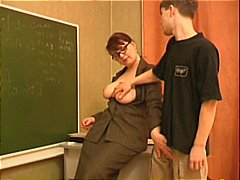 DrTuber Movie:Teacher Seduces A Young Stud