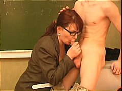 Teacher Seduces A Youn...