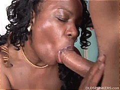 Mature black amateur h...