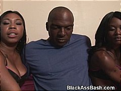 ebony, group sex, threesome, blowjob, booty, black,