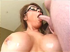 See: Busty brunette gives h...