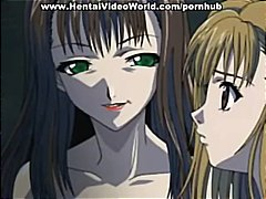 Hentai babes are getting cocks to suck and get pounded by