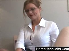 handjob, fetish, babe, glasses, milf,