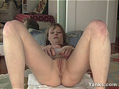 Petite Hot MILF with s...
