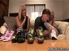 Foot Teasing With Two ... video