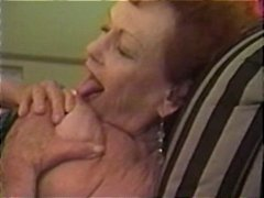 65 yo granny enjoys a ...