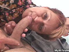 Granny seduces her dau...