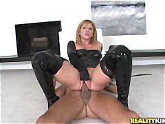 Big ass black latex Brooklyn destroye...