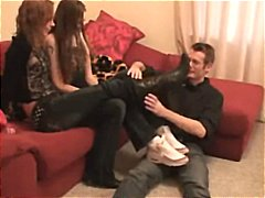 Two girls sockjob - Xhamster