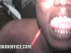 Xhamster Movie:Nappy African girl suck my dic...