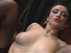 Hot milf  takes it up ... video