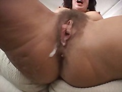 cream pie, hairy,