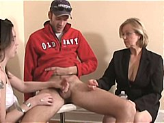 Jerkoff by Mature Woman - Xhamster