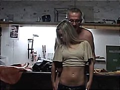 Sabrina in car repair ... video