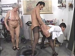 german, grannies, group sex,
