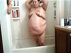 Xhamster - SSBBW in the shower