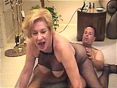 old + young, milfs, stockings,