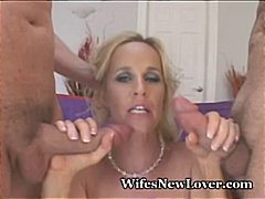 Wet MILF Bangs Two New...