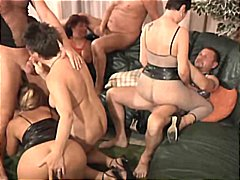 Orgy features many mil... preview
