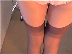 Thumb: Pink Girdle Nylon Panties