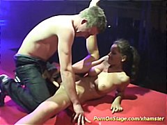 Sex show on stage