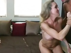 milf, blonde, missionary, fake