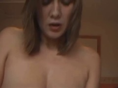POV sex with a milf in his bedroom