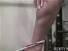 Tube8 - Mature Blonde Gym Instruction