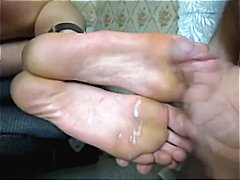Tube8 Movie:Soles fuck toejob