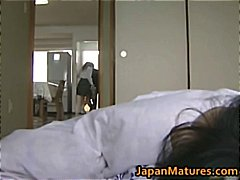 Hot Asian babe has mat... video