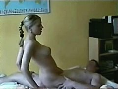 tight, blonde, ass, russian, riding,