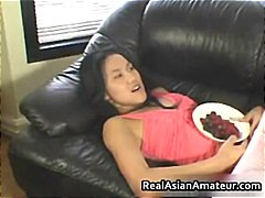 asian, facial, blowjob, amateur selfshot