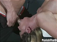 Deep Throat Punishment for Rachel Roxxx in Haunted House
