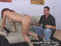 sharing, wife, freeporn, pussy, oral