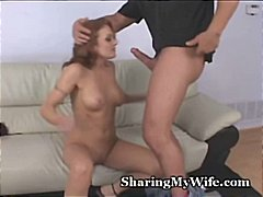 swinger, oral, sharing, wife