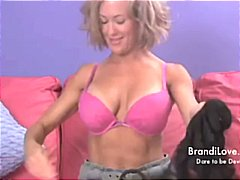 Tube8 - Panty Stuffing Stiletto Slut a Brandi Love Amateur Adventure