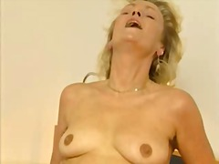 Very Hairy German Mature Blonde Casting