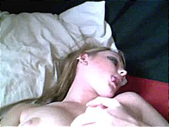 Hot Blonde Plays With ... video