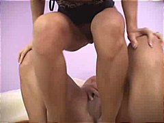 clit, oral, riding, brunette, sperm,