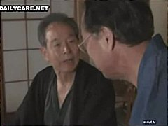 Horny Japanese men lic... video
