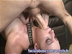 Two Thick Rods Slam Her Th... - 05:01